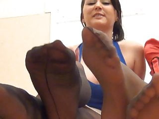 Femdom foot fetish, DL and AG