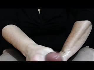 Angry Wife Cock Punching dick Slapping Handjob!