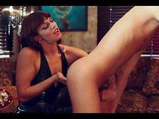 Prostate massage by Mistress (hot)