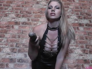 Busty goddess in latex mesmerizes you with BBC