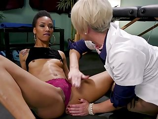 Patient Prescribed Intense BDSM Squirting Therapy