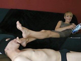 Foot worhsip