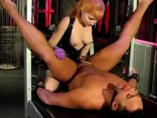 Aiden Starr Fisting and Pegging Guy BDSM