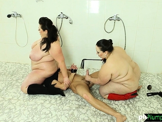 Ssbbw babes dominating sub cock