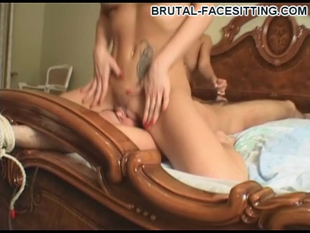 Brutal-FaceSitting Video: Rita & Irina