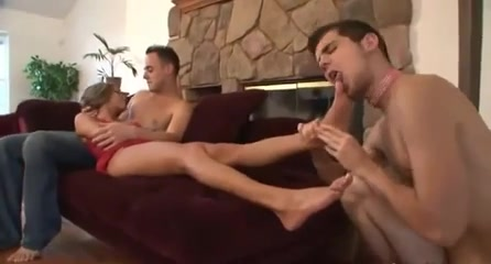 slave worship feet couple