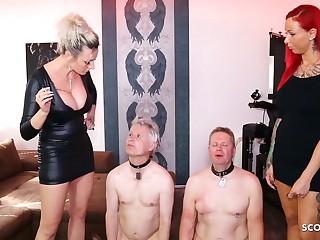 German Femdom Domination Spit and more Session with 2 Slaves - Scout69.com ist die größte deutschsprachige Erotik Community - Jetzt kostenlos dabei sein