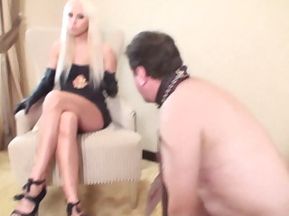 princess bitchy barbie + master humiliate slave joschi