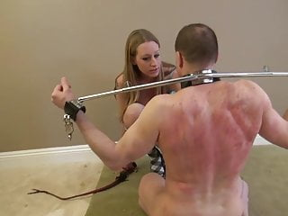 Lizzy's single tail whipping pain slut