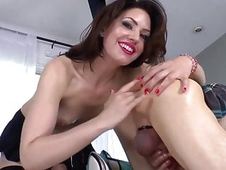 Fetish Babe Rimjob Suck a Lucky Guy